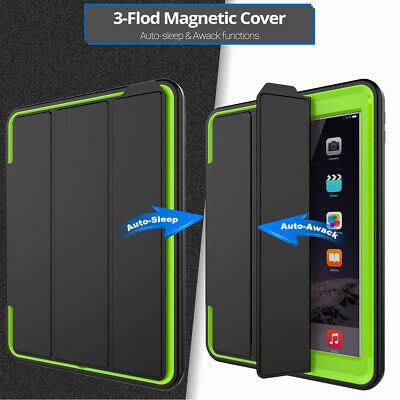 "For iPad Air 10.5"" 3rd Gen 2019 Shockproof Magnetic Rugged Flip Smart Case Cover"