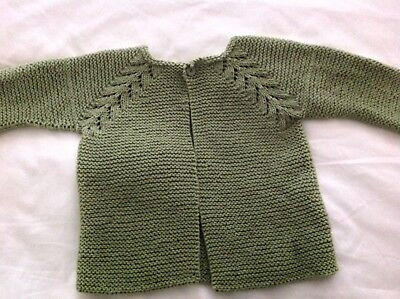 Child's Hand Knitted Cardigan