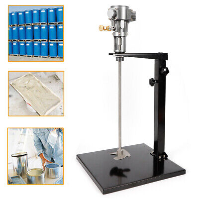5 Gallon Pneumatic Mixer with Stand Paint Mixer Stainless Steel Mix Tool USA