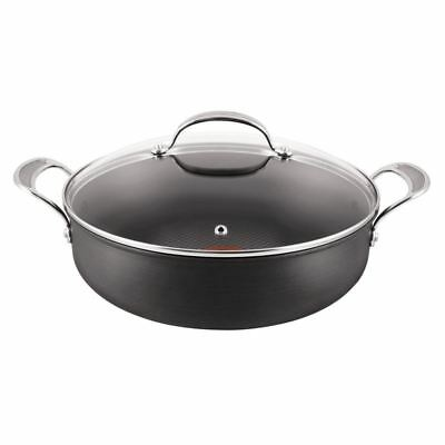 Jamie Oliver by Tefal - Professional Series Hard Anodised Covered Pot Roast 30cm
