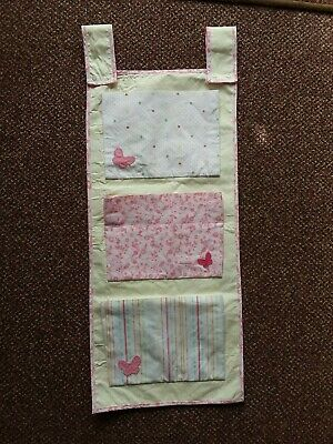 Mothercare - Baby Girls -  Pink/Lemon Patterned Nursery Tidy