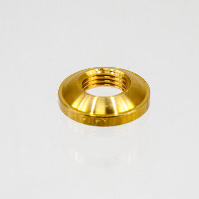 Brass 10mm Dome Ring Nut 4566761