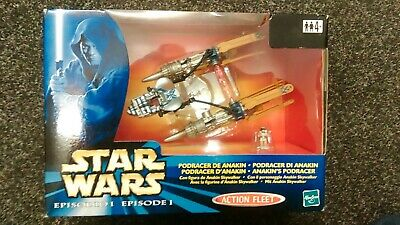 Star Wars Episode 1 Anakin's Podracer Action Fleet Hasbro 1999