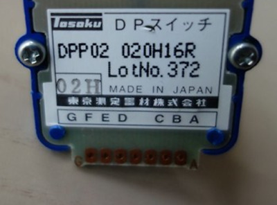 1PC New TOSOKU 02H/DPP02020H16R Switch for Pulse Generator