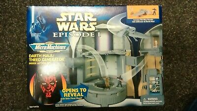 Star Wars Episode 1 Darth Maul Theed Generator Micro Machines Galoob 1999