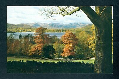 The English Lakes. Windermere & Langdale Pikes. Jarrold postcard. Uncirculated
