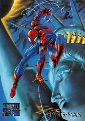 1995 Fleer Marvel Masterpieces Card #93 Spider-Man