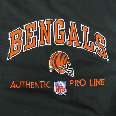Cheap RARE VINTAGE 90S Cincinnati Bengals NFL Pro Line Apex One Hooded  supplier