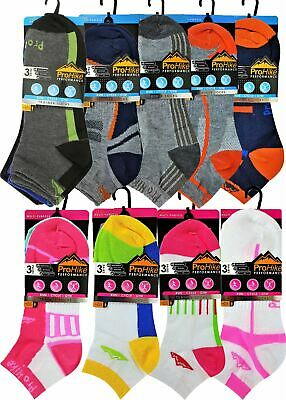 6 or 12 Mens or Ladies ProHike Trainer Liners Invisible Sports Gym Socks