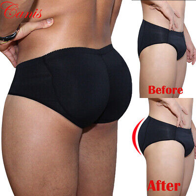 Fullness Briefs Padded Butt Booster Enhancer Stomach Shapewear Underwear Men