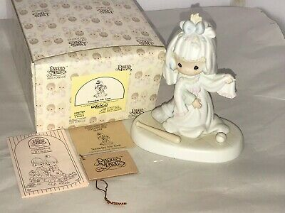 Precious Moments-Wedding-Daydreaming Bride-Someday My Love-Retired 1992 Box Tags
