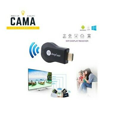 Chiavetta Dongle Anycast Wifi Display Plus Dlna Airplay Hdmi Android M5