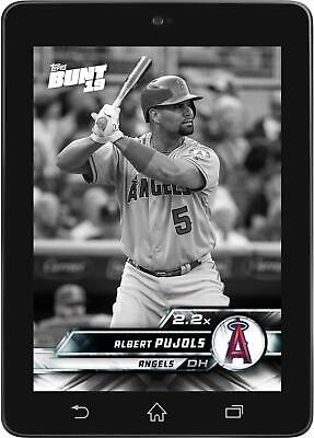 Topps BUNT Albert Pujols 2.2X Boost Tier 6 Base Series 1 2019 [DIGITAL CARD]