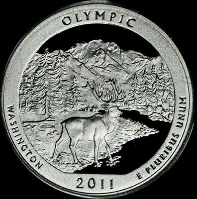 2011 S Silver Proof Olympic Quarter U.S. Mint 90% Silver