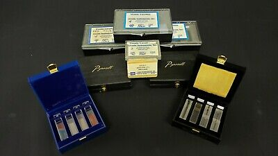 Lot of 34 Various Glass and Quartz Cuvettes for Spectrophotometer Uvonic Hellma