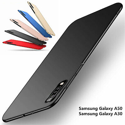 For Samsung Galaxy A50 A30 Shockproof Ultra Slim Matte Hard Back Cover Skin Case