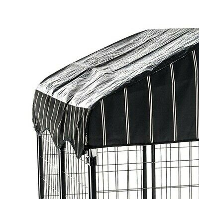 Uptown Large Outdoor Covered Kennel Heavy Duty Pet Dog Cage Fence Pen