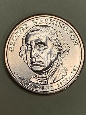 2007 D George Washington Presidential Dollar Coin Uncirculated