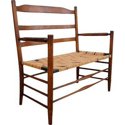 Remarkable Antique Hall Bench Seat Woodiron Buggy Stagecoach 399 99 Andrewgaddart Wooden Chair Designs For Living Room Andrewgaddartcom