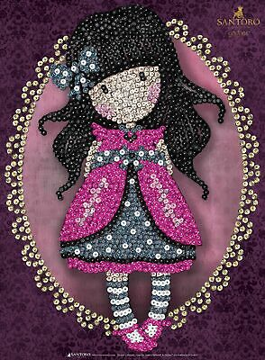 Tableau Sequin Art Gorjuss Rose - Sequin Art