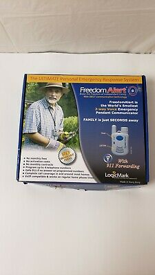 Freedom Alert 35511 Personal Emergency Response System LogicMark NEW open box