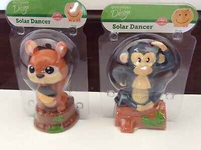 SQUIRREL Solar Powered Dancing Toy Bobblehead New 2019 FALL