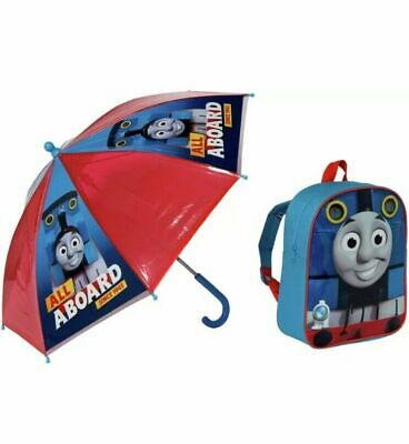Thomas The Tank Engine & Friends Umbrella & Backpack All Aboard