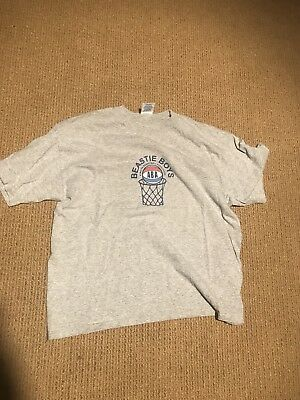 Beastie Boys Basketball T Shirt Concert Size Xl 2000