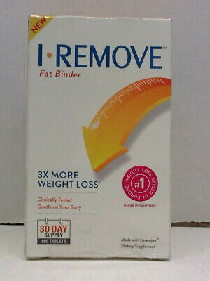 I Remove Weight Loss Pills Fat Binder 180 Tablets 30 Day Pack 3