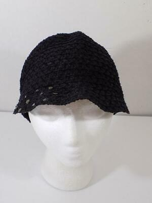 a389d675569 AUGUST ACCESSORIES WOMEN S Black Wool Fedora Hat With Beaded Accent ...