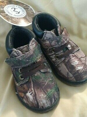 6a54ec2ec67a3 Realtree / Garanimals Infant's Boots Size 4 Camo. NEW WITH TAGS AND HOOK!