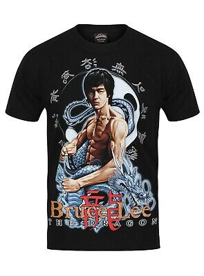 New  T-Shirt (BRUCE LEE)  Both Side Print ENTER THE DRAGON