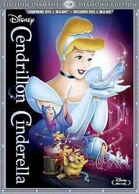 Cendrillon: Édition Diamant / Cinderella: Diamond Edition (Bilingual DVD Combo