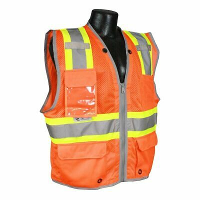 d88b014a7c2 RADIANS CLASS 2 Heavy Duty Two-Tone Surveyor Safety Vest