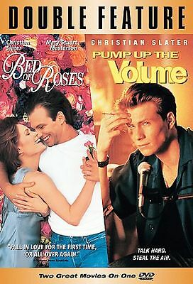 Bed of Roses 1999 & Pump Up the Volume  1990 DVD 2 movie Set Christian Slater