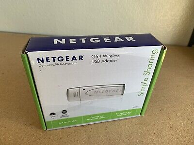 NETGEAR WG111 54MBPS Wireless USB 2 0 Network Adapter Dongle