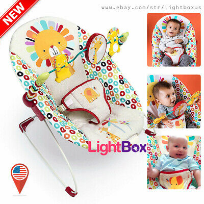 Infant to Toddler Rocker Bouncer Seat Baby Chair Sleeper Swing Toys Unisex NEW