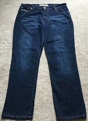 13bbb137 Mens Diesel Industries Distressed Stretch Denim Jeans Size 36 Made In Italy
