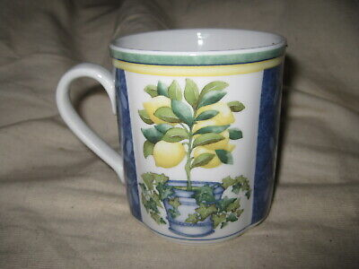 Villeroy & Boch Switch 3 Corfu Country Collection Lemon Tree Mug (s)