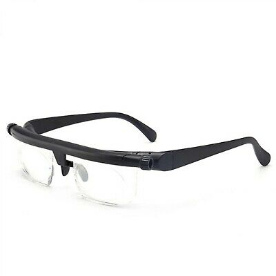 Portable Adjustable Variable Focus Strength Lens Reading Glasses