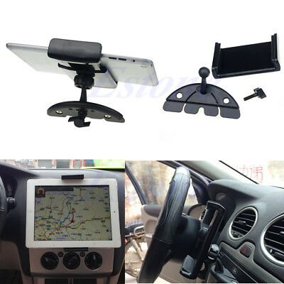 360° Universal Car CD Slot Stand Holder Mount For iPad 2/3/4 5 Air Galaxy Tab