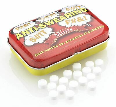 Boxer Gifts Anti-Swearing Mints -  Joke, Prank, Secret Santa Gift