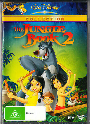 Disney's The Jungle Book 2  Dvd=Region 4 Australian Release=New And Sealed