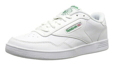 Reebok Club Memt Lifestyle White Green Mens Wide 4E Sneakers Tennis Shoes V70198