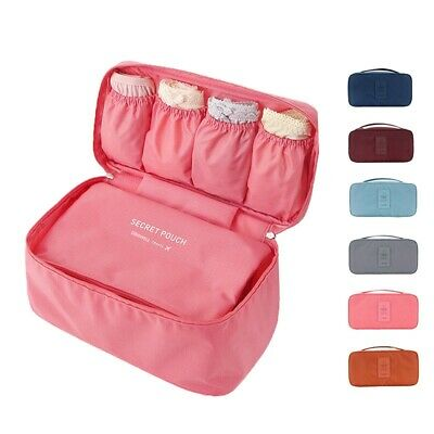 Clothes Underwear Socks Packing Cube Storage Travel Luggage Organizer Bag HOT AU