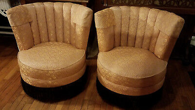 Antique *Set* of Slipper Chairs