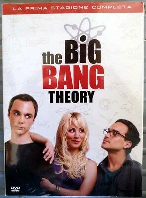 The Big Bang Theory – La Prima Stagione Completa, 3 Dvd, Nuovo, Sigillato