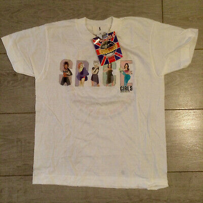 Spice Girls official T-shirt Spiceworld Tour 98 NEW with tag - rare - promo