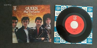 QUEEN  - PLAY THE GAME - 1980 - Japan P-603E