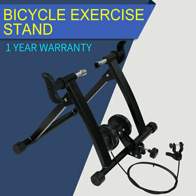 Folding Indoor Magnetic Bike Trainer Stand Bicycle Exercise Workout Magnetic